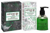Natural Vibes Tea Tree & Activated Charcoal Bath & Body Treatment - Soap & Face Wash 300 g