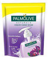 Palmolive Liquid Handwash - Black Orchid & Milk, Refill Pack 185 ml