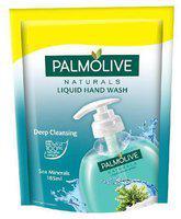Palmolive Liquid Handwash - Sea Minerals, Refill Pack 185 ml