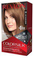 Revlon Hair Colour - Light Golden Brown With 3D Color Technology ColorSilk 100 ml