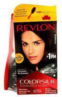 Revlon Hair Colour - Brown Black 2N ColorSilk 158 g