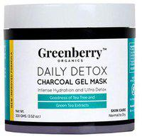 Greenberry Organics Daily Detox Charcoal Gel Mask 100 g