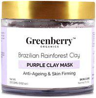 Greenberry Organics Brazilian Rainforest Purple Clay Mask 100gm