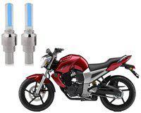 Riderscart Blue Bike Tyre LED Light Wth Motion Sensor Tyre Light Blue Fancy Light Tail Light Plastic for Yamaha FZ 16 Bike