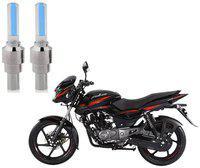 Riderscart Blue Bike Tyre LED Light Wth Motion Sensor Tyre Light Blue Fancy Light Tail Light Plastic for Bajaj Pulsar 150 Bike
