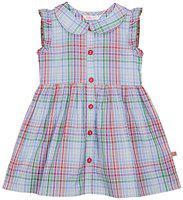 Budding Bees Girls Midi/Knee Length Casual Dress(Multicolor, Sleeveless)