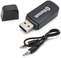Scoria USB Bluetooth Audio Music Receiver Adapter 3.5mm AUX for Car & Speakers