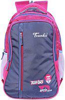TRUNKIT 30 l Backpack & School bag - Blue & Pink