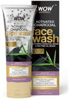 WOW Skin Science Activated Charcoal Face Wash 100mL Tube