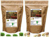 WILD FOREST NEEM LEAVES AND MULTANI MITTI POWDER 100 GM (Pack of 2)
