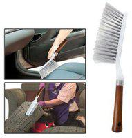 Delhi Traderss Cleaning Brush For Car Seat/Carpet/Mats