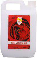 Indrani Rose Cleansing Milk For Women Nourishing And Refreshing The Skin 5 Litre