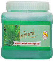Indrani Alovera Facial Massage Gel For Women Makes Rejuvenates And Hydrates Skin 5 kg