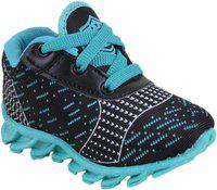 NEOBABY Boys & Girls Lace Casual Boots(Light Blue)