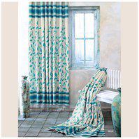 Cortina Premium Jacquard Blue Window Curtain 1 Pc