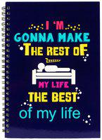 The Crazy Me Rest Of My Life Best Of My Life Diary
