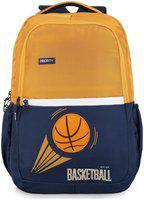 Priority 40 School bag - Yellow & Blue