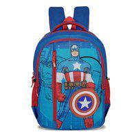 Priority 39 School bag - Blue & Red