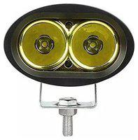 Andride 20 Watt 3000Lm Cree Led Smd Projector Auxiliary Amber Spot Led Off Road Driving Lights For- Jeep (Yellow) 1PC Car Fancy Lights (Yellow)