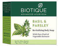 BIOTIQUE Basil & Parsley Body Cleanser 225 g