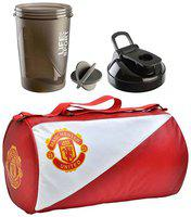 JMO27Deals Combo Set of Leather Bag with 400 ml Shaker