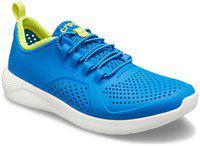 crocs Boy's Literide Bright Cobalt/Citrus Sneakers-10 Kids UK (27.5 EU) (206011-4KF)