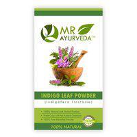 MR Ayurveda Indigo Powder for Natural Hair Colour, Anti-Dandruff & Hair Growth 100 g
