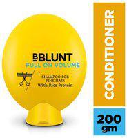 Bblunt Hair Conditioner - Full On Volume For Fine Hair 200 g