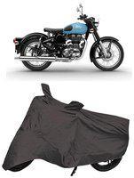 Bigwheels Premium Quality Grey Matty Bike Body Cover for Royal Enfield Classic 350