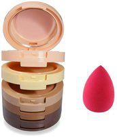Mars 5 in 1 Beauty Concealer With Puff GCI782 (Pack of 2)
