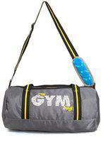 DAFTER Polyester Men Gym bag - Grey