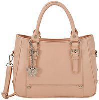 (butterflies Women Stylish And Modern Handbag (peach) (bns 0720pch)