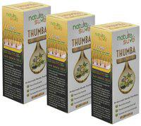 Nature Sure Thumba Wonder Hair Oil for Men and Women 110ml Pack of 3