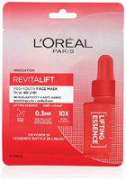L'Oreal Paris Revitalift Essence Face Sheet Mask, Lifting and Hydrating, 30g