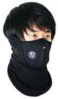 Marketwala Bike Face Mask For Men And Women (Pack of 1) Black