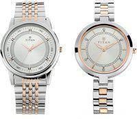 Titan Analog Couple Watch