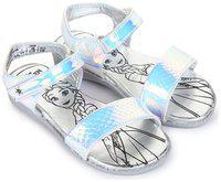 Disney Silver Girls Sandals