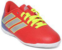 ADIDAS Boys Lace Football Shoes(Red)