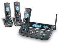 Uniden DECT4086-3 Cordless Phone with Blue Backlit LCD Display & 3 Handsets