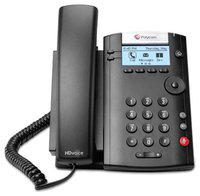 Polycom 2200-40450-025 2-Line Corded Voice Over IP Phone (PoE Support)
