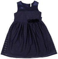 Pantaloons Junior Blue Polyester Sleeveless Knee Length Princess Frock ( Pack of 1 )