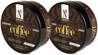 NutriGlow Natural's Raw Irish Coffee Face Pack (200 g) (Pack of 2)