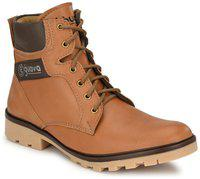 Guava GV15JA684 Boots For Men(Tan)