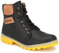 Guava Plain Toe Boot - Black