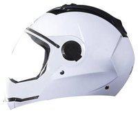 Steelbird White Flip Up Full Face Helmet ( ISI Certified ,Size: M )