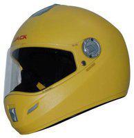 Steelbird Yellow Flip Up Full Face Helmet ( ISI Certified ,Size: L )