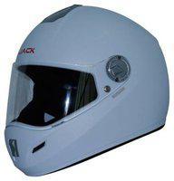 Steelbird White Flip Up Full Face Helmet ( ISI Certified ,Size: L )