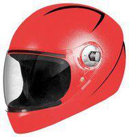 Steelbird Red Flip Up Full Face Helmet ( ISI Certified ,Size: L )