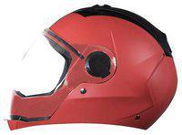 Steelbird Red Flip Up Full Face Helmet ( ISI Certified ,Size: M )