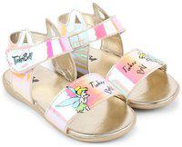 Disney Yellow Girls Sandals